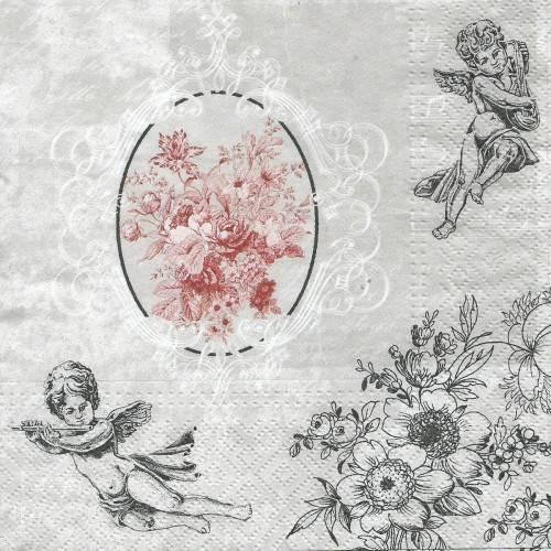 Χαρτοπετσέτα Με Αγγελάκια - SDL089400