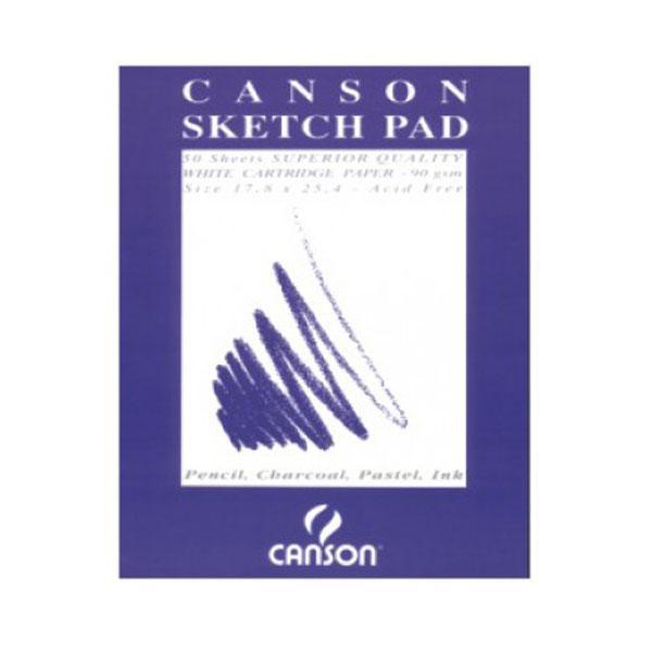 Μπλοκ Sketchpad 50 φυλλων 25.4X35.5cm 90gr Canson