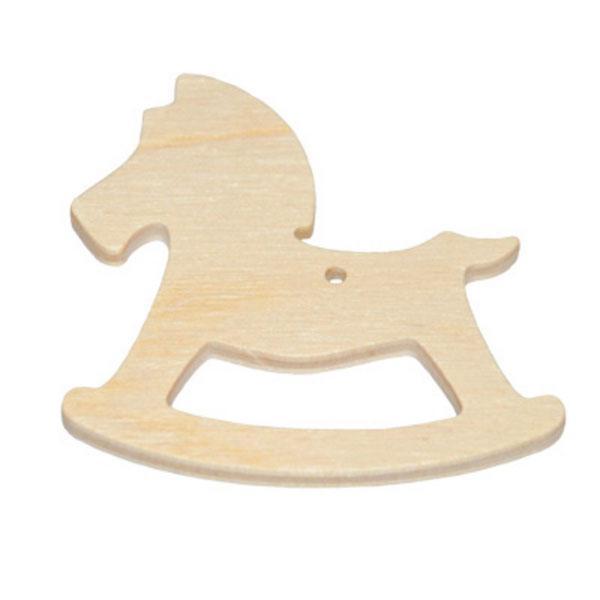 Ξύλινο Διακοσμητικό Αλογάκι 6cm