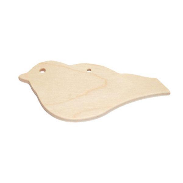 Ξύλινο Διακοσμητικό Πουλάκι 5cm
