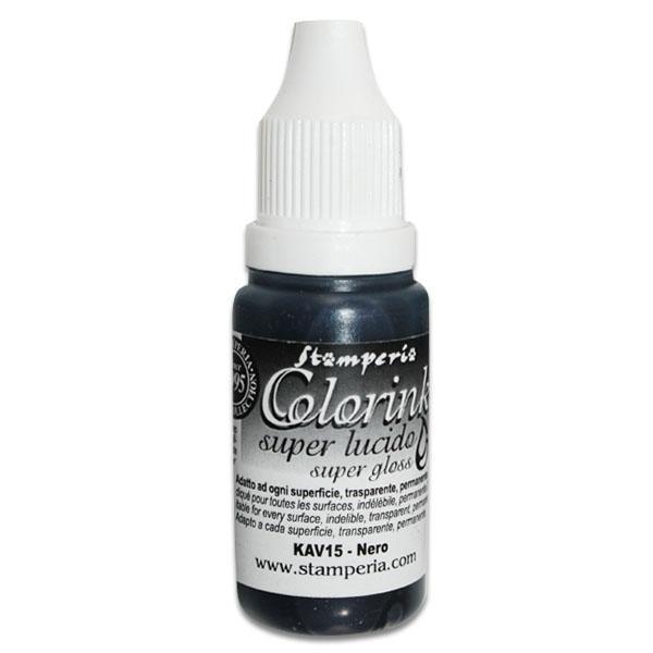 Color Ink Μαύρο 14ml 720 Stamperia - KAV15