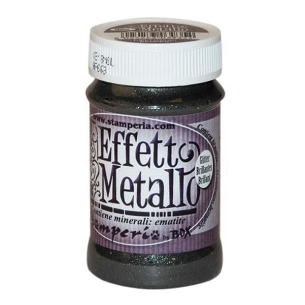 Πάστα Μετάλλου Glitter 150ml Stamperia - (KE18GGL)