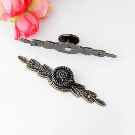 Μεταλλικό antique χερούλι επίπλων 85x20mm