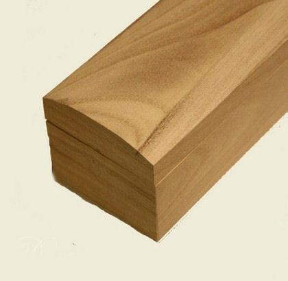 Λαμπαδόκουτο ξύλινο 46x 6.5 x 6cm