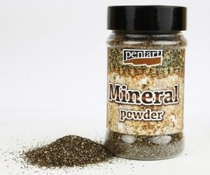 Mineral Powder Platinum Granite 130gr Pentart