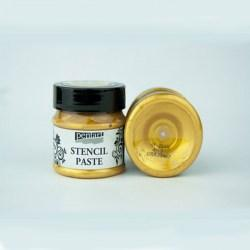 Stencil Paste Pearl Pentart 50ml - Gold