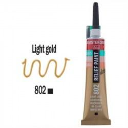 3d Relief Decorfin 20ml (σε 15 αποχρώσεις) 802 Light Gold