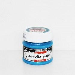 Metallic Paint 50ml Pentart  - Light Blue