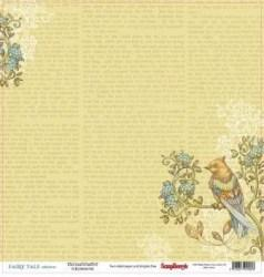 Χαρτί scrapbooking Double-sided 30 - 5x30 - 5cm 180 g/m - Fairy Tale - Enchantment