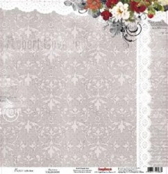 Χαρτί scrapbooking one side 30.5x30 - 5cm  180gsm Elegy Hapiness