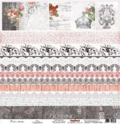 Χαρτί scrapbooking one side 30.5x30 - 5cm  180gsm Elegy Elegy