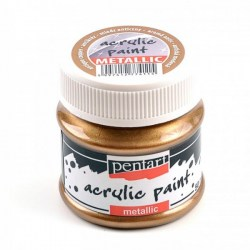Metallic Paint 50ml Pentart - Antique Copper