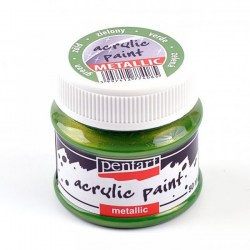 Metallic Paint 50ml Pentart  - Green
