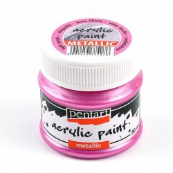 Metallic Paint 50ml Pentart  - Light Purple