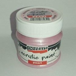 Χρώμα perle rose Pentart 50 ml