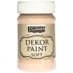 Dekor Soft Paint 100ml Pentart - Apricot