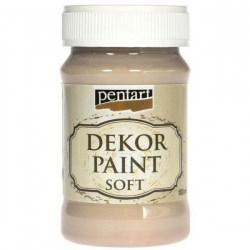 Dekor Soft Paint 100ml Pentart - Cappuccino