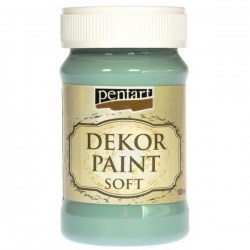 Dekor Soft Paint 100ml Pentart - Country Blue