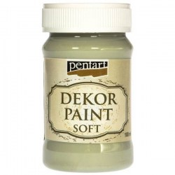 Dekor Soft Paint 100ml Pentart - Country Green