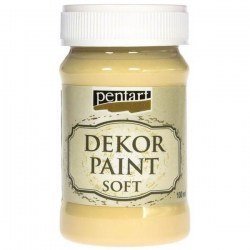Dekor Soft Paint 100ml Pentart - Eggshell White