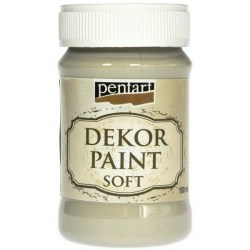 Decor Soft Paint 100ml Pentart - Lichen Green