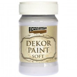 Dekor Soft Paint 100ml Pentart - Light Lilac