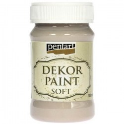 Dekor Soft Paint 100ml Pentart - Mandel