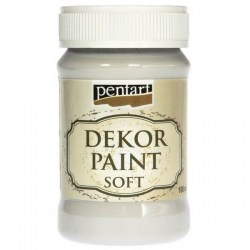 Dekor Soft Paint 100ml Pentart - Off White