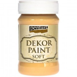 Decor Soft Paint 100ml Pentart - Tangerine