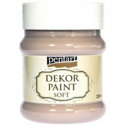 Dekor Soft Paint 230ml Pentart - Mandel