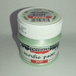 Acrylic Paint Pentart Pearl 50 ml (Green)