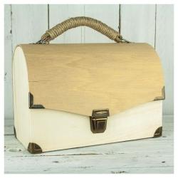 Ξύλινη Τσάντα 29x20cm με χερούλι